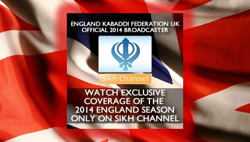 Kabaddi 2014 on Sikh Channel