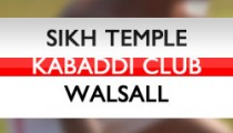 Walsall Kabaddi Club Team 2013